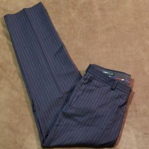 J Crew Pin Striped Pants 32x30